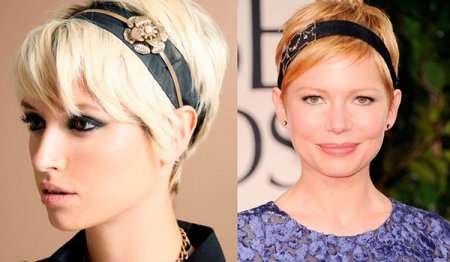 Unusual evening hairstyles. Evening hairstyles for short hair